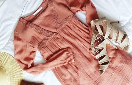 Рокля Zara в бохемски стил
