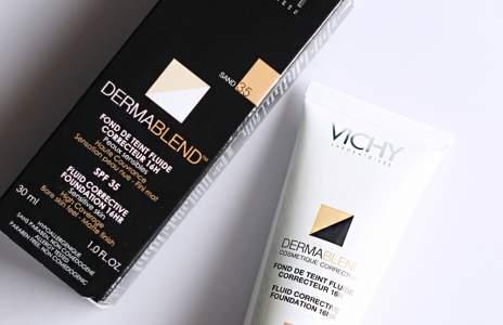 Vichy DermaBlend фон дьо тен 35 Sand