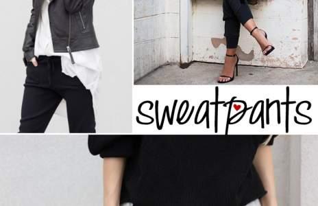Inspiration: sweatpants